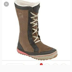 Sorel Mackenzie Lace Tall Boots 9